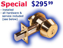 high security deadbolt locksmith